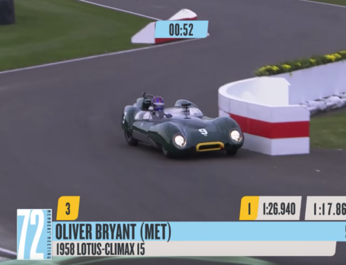 Fast lap at Goodwood set with a sticky Climax