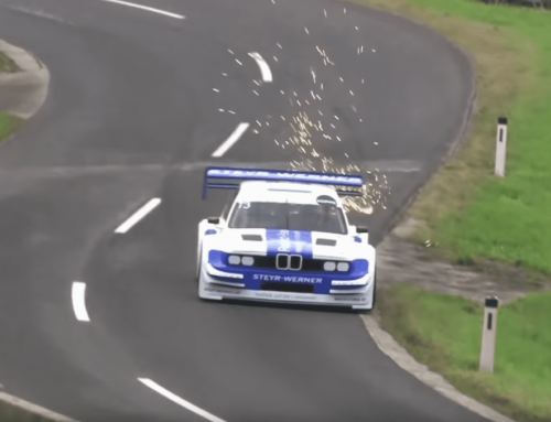 This E30 BMW with an IndyCar V8 is hill climb perfection