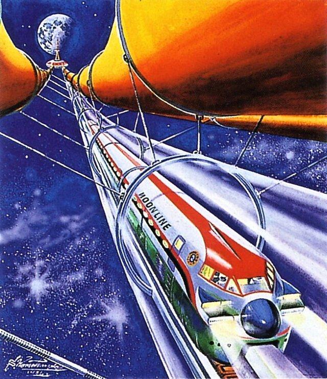 Shigeru Komatsuzaki – Space train, 1981