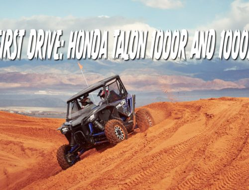 First Drive: Honda Talon 1000R and 1000X