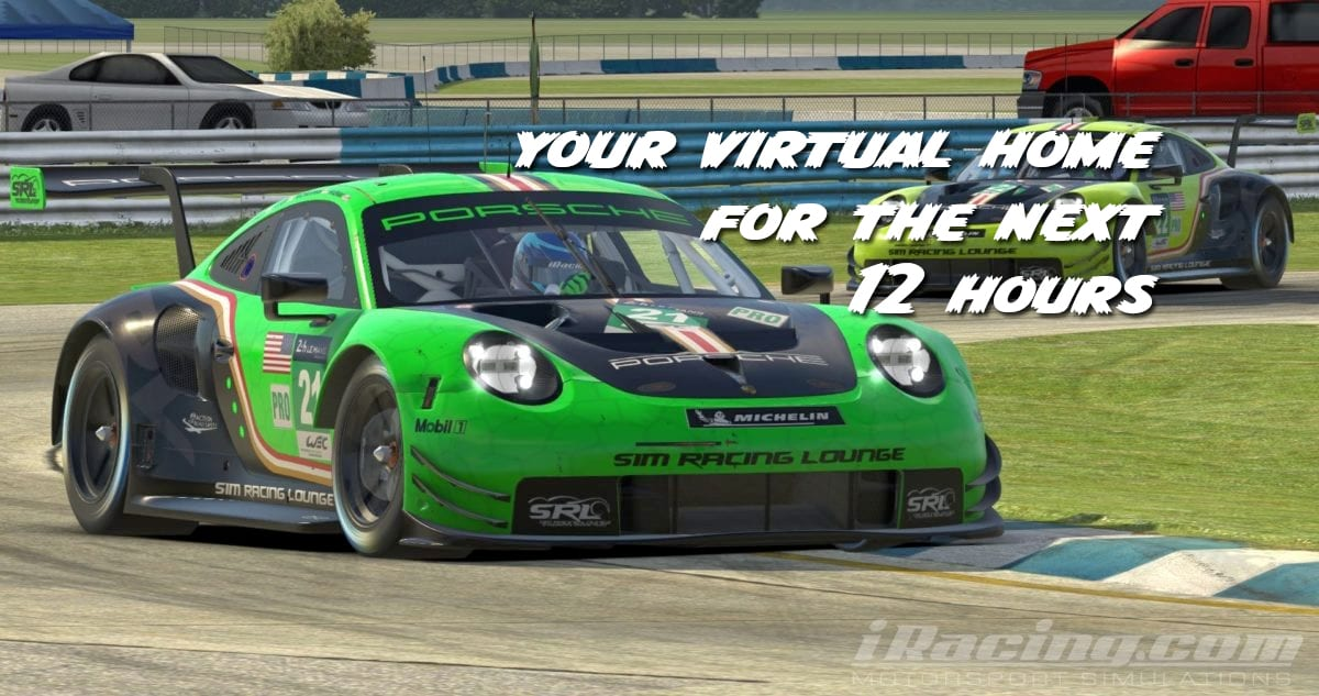12 hours of Sebring in iRacing
