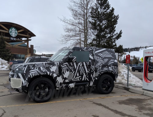 Exclusive Spy Shots: 2020 Land Rover Defender!