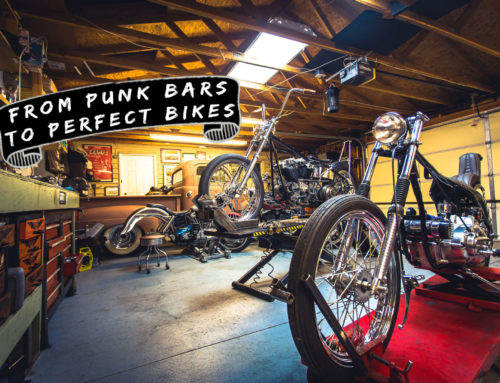 Anchor Moto: A bike shop formed in the back of a punk bar