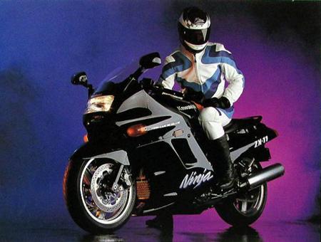 1992 Kawasaki ZX11