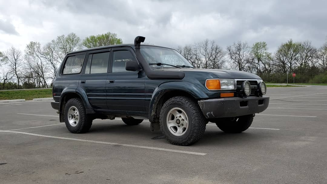 1994 Toyota Land Cruiser - 300,000 miles
