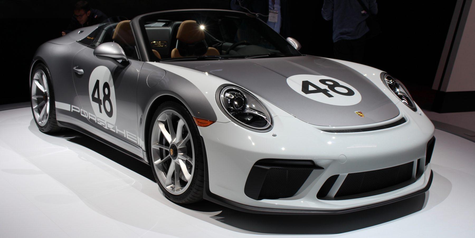 Porsche 911 Speedster Heritage Design Package