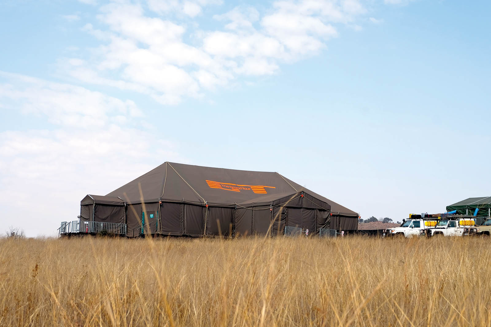 The Grand Tour tent