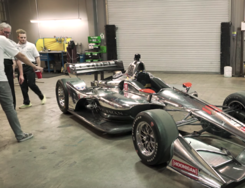 Hoonigan's Build Biology gets up close with an IndyCar