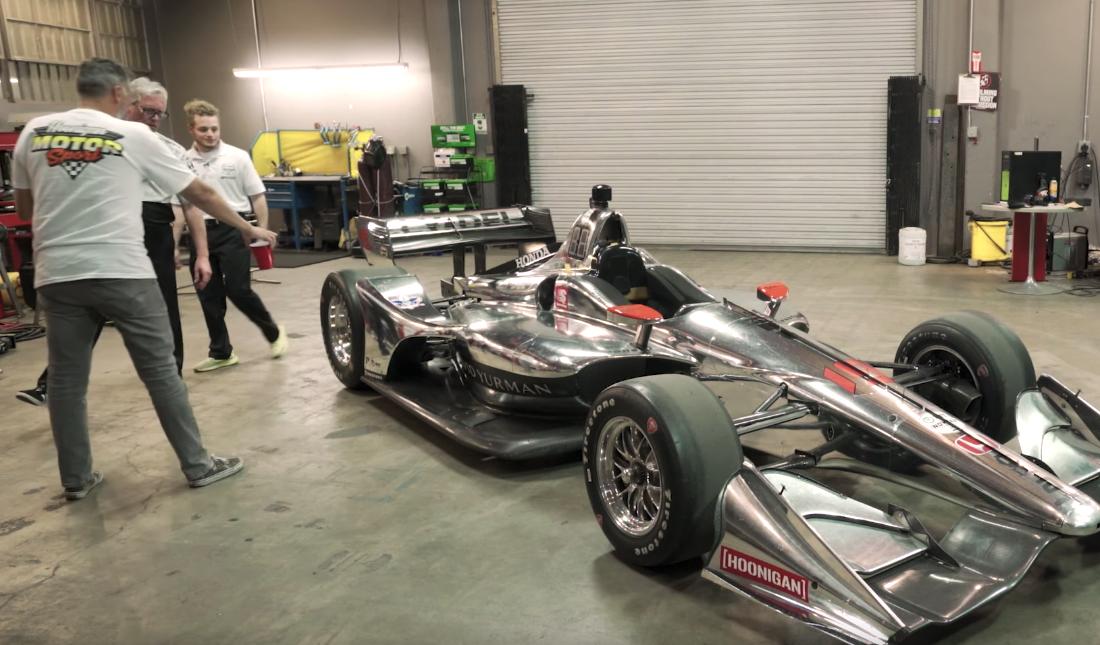 Hoonigan Dallara Dale Coyne IndyCar