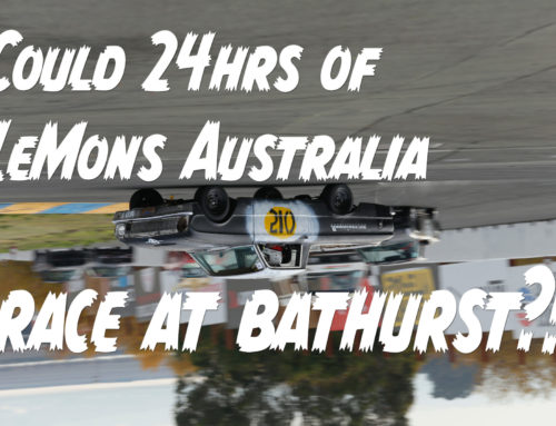 LeMons Australia is trying to run an event at Bathurst