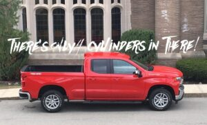 The 2019 Chevrolet Silverado 1500 is a full-size four-banger