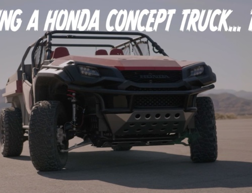 Quick Spin: The Honda Rugged Open Air Vehicle (ROAV) concept