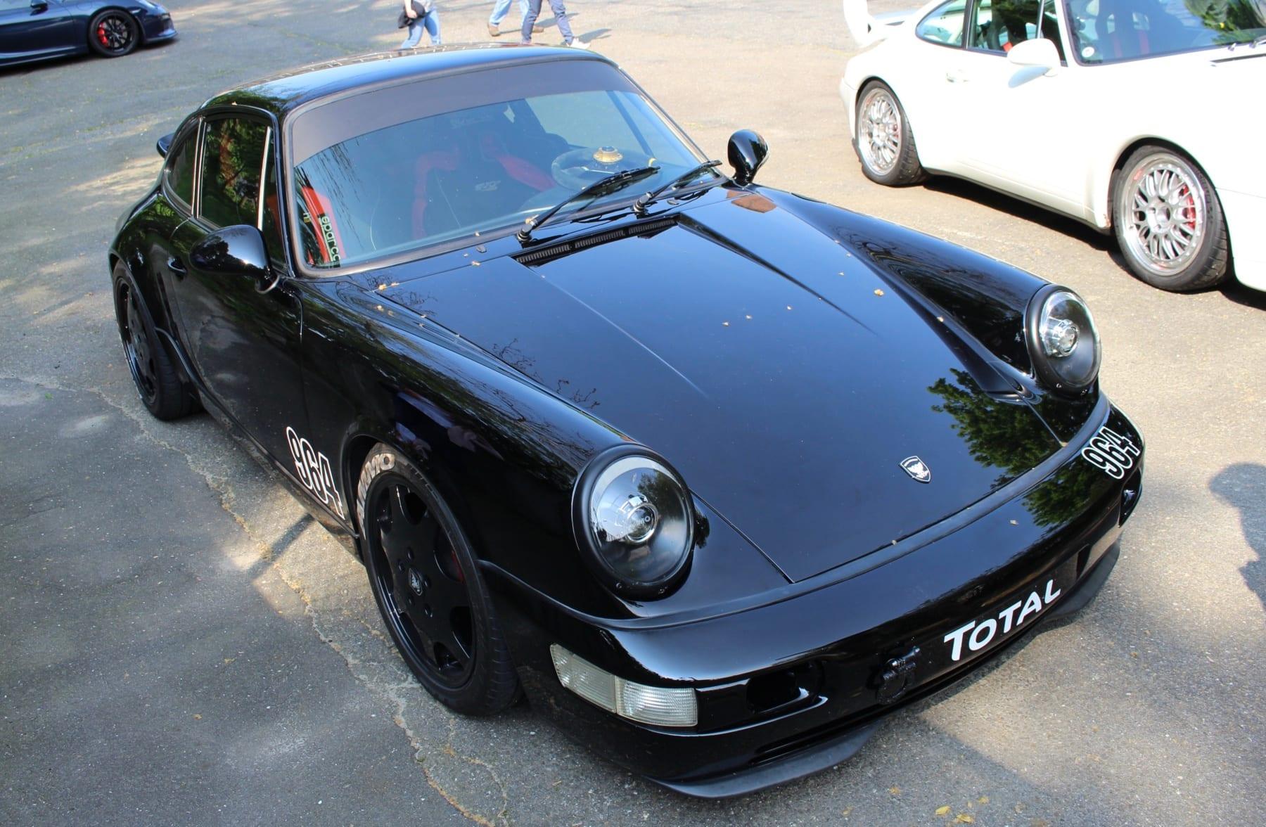 Larry Kosilla of AMMO NYC's Porsche 964 911
