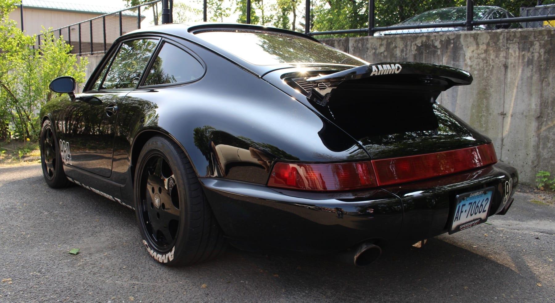 Friend of Hooniverse Larry Kosilla of AMMO NYC's Porsche 964 911