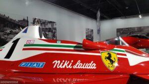 Niki Lauda Ferrari 312 T2