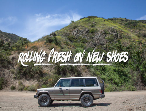 The Montero: Running around on a new set of shoes