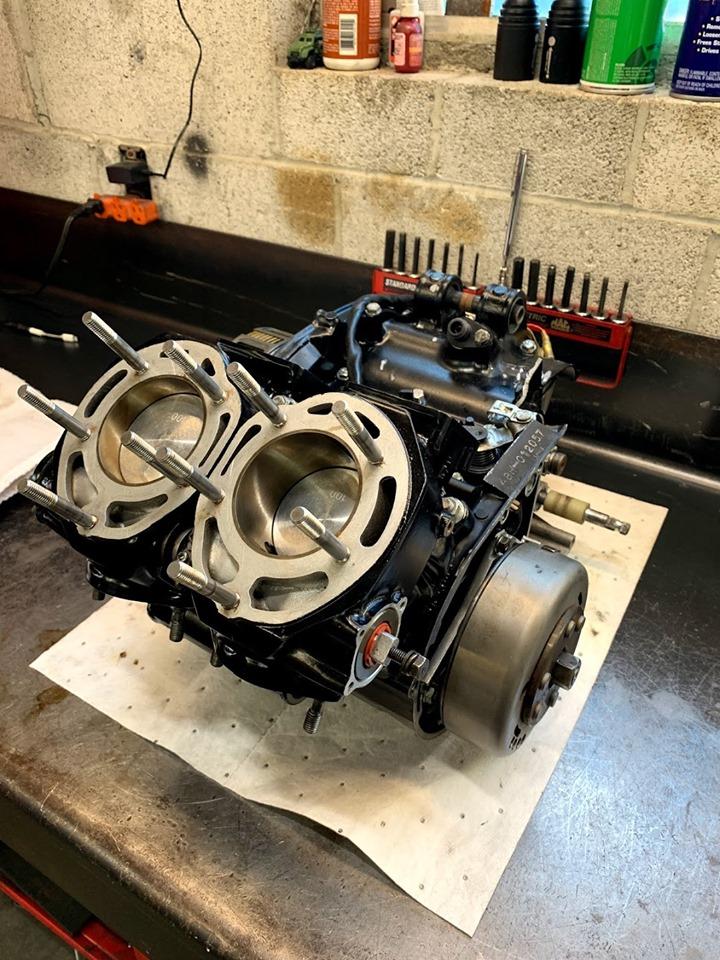 KR Replica Yamaha RZ350 engine
