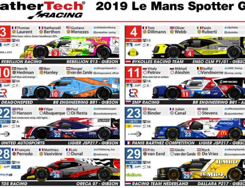 2019 24 Hours of Le Mans Spotters Guide