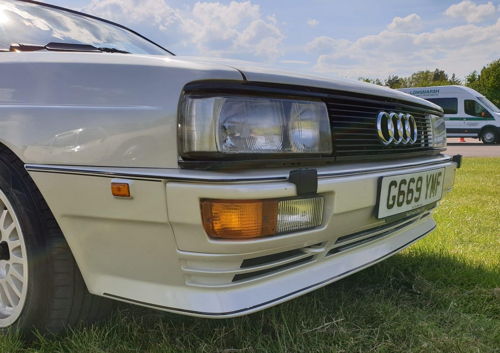 Ur Quattro, front end detail