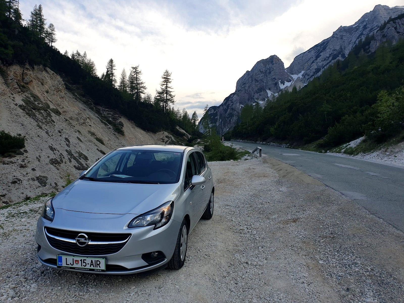 A Corsa in Slovenia