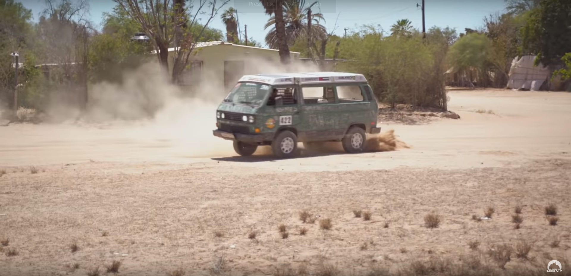 Vanagon in the NORRA Mexican 1000