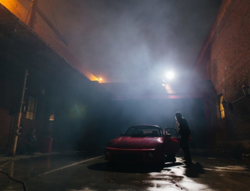 "A young film crew captures Magnus Walker and his new ride in ""Night Rider"""