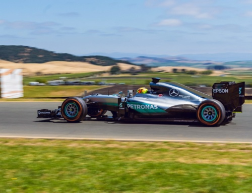 Mercedes-AMG put on a show in Sonoma