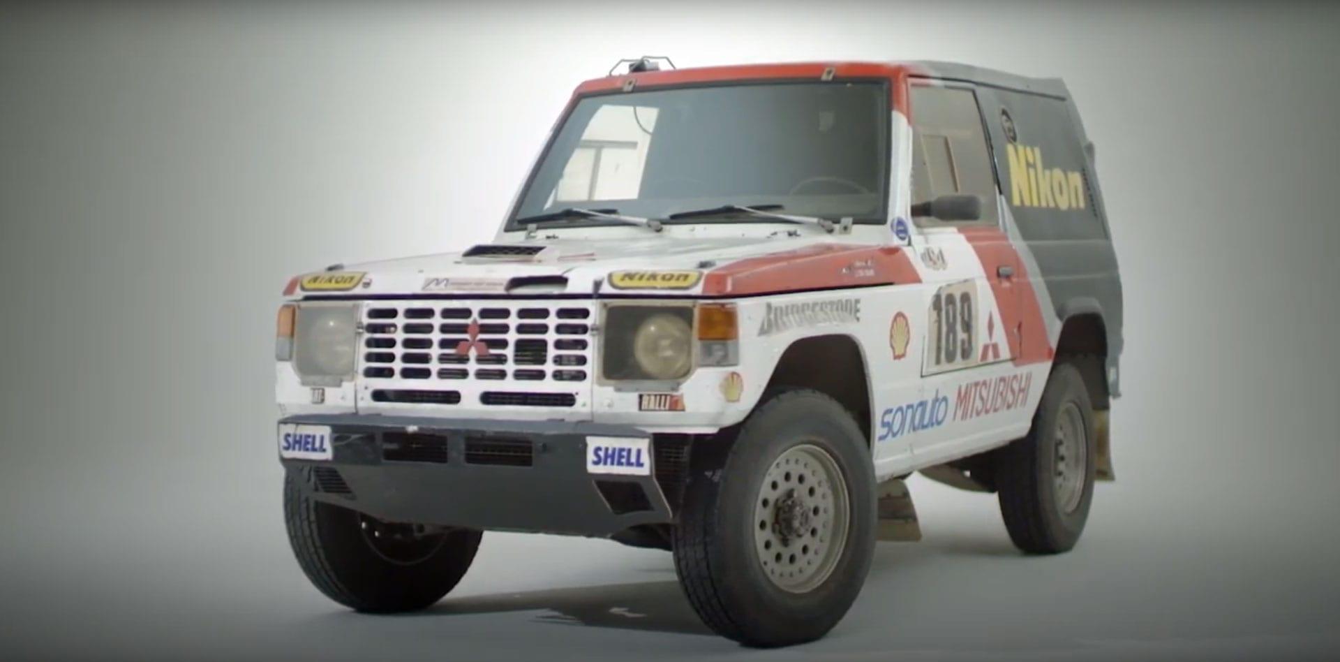 Paris-Dakar Winner 1985 Mitsubishi Pajero