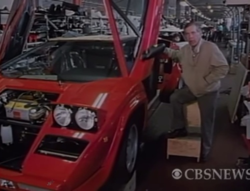 Throwback Thursday: 60 Minutes Visits Lamborghini Circa 1987