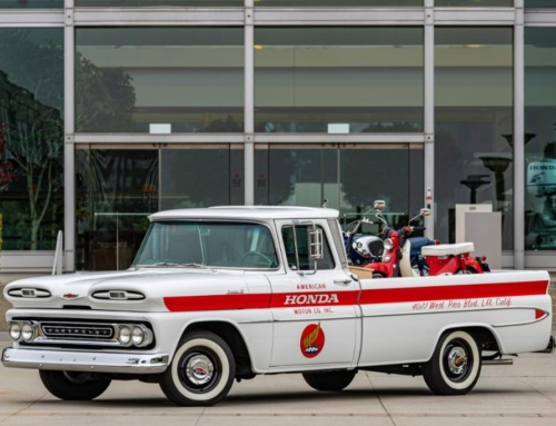 Honda restored a Chevy Apache pickup