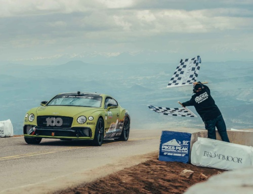 Bentley Continental GT sets production car record