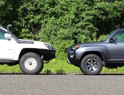 Comparison: 4th gen and 5th gen Toyota 4Runners
