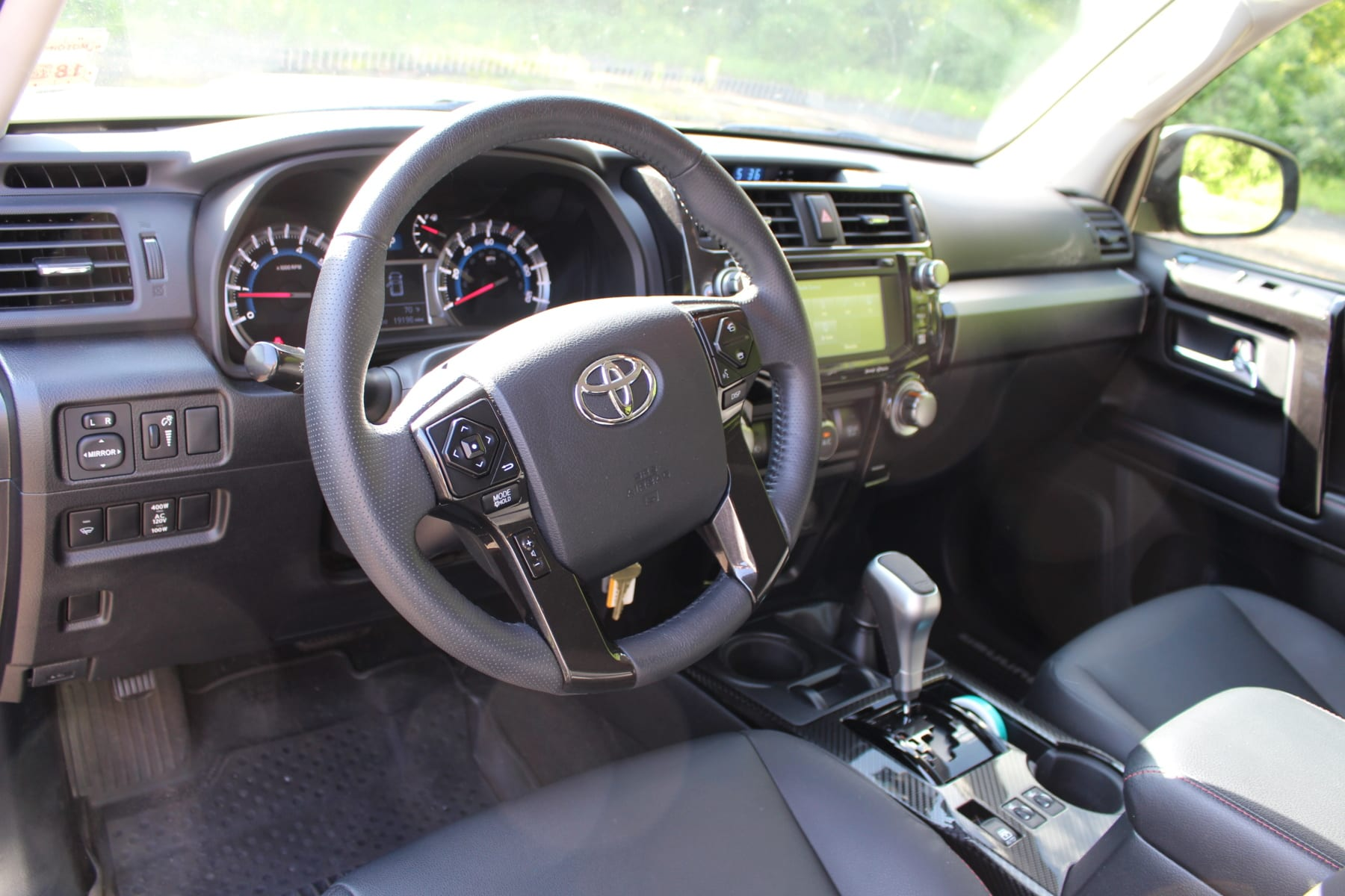 5th gen 4Runner interior