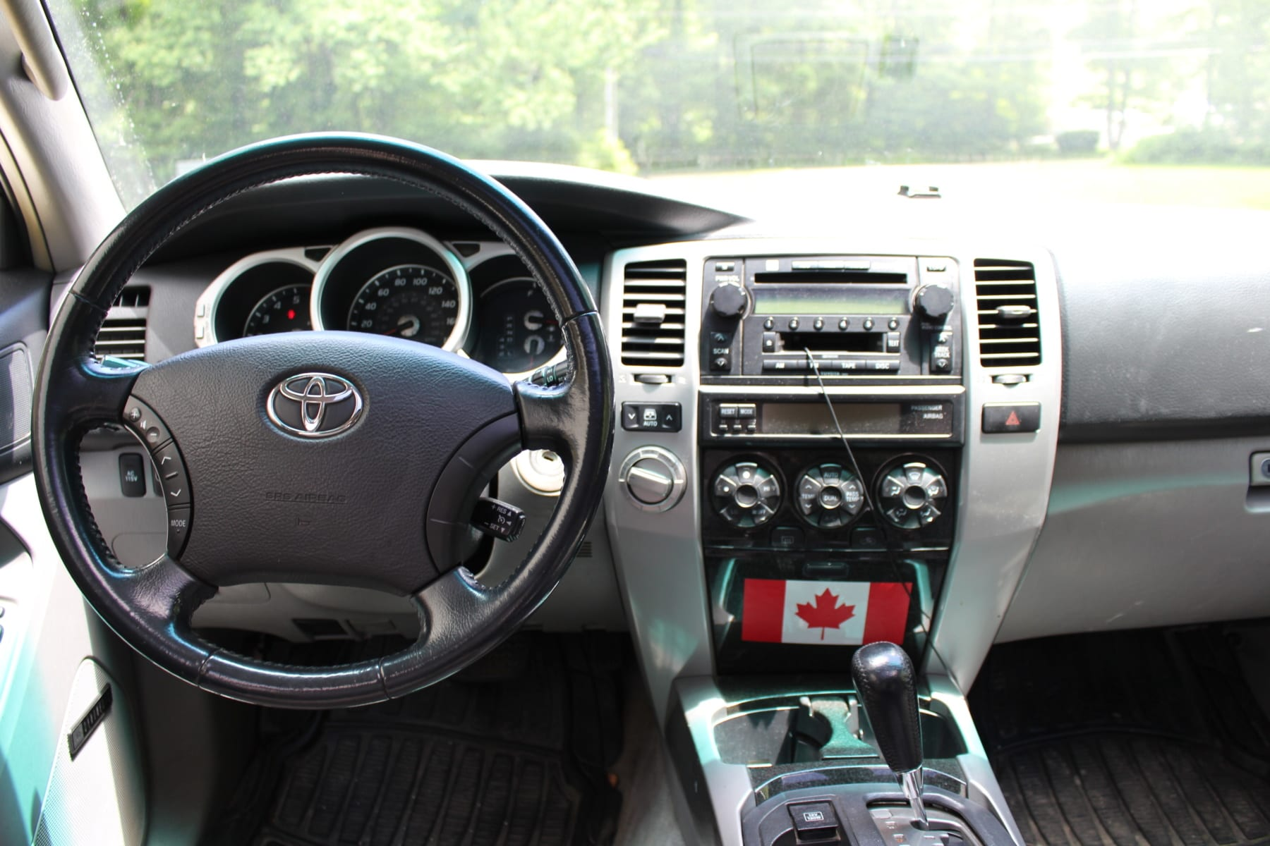 4th gen 4Runner interior