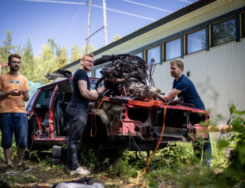 Finnish Line: We grab a cheap PRV V6 engine