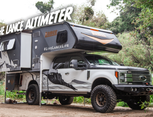 Camp anywhere: The Lance Altimeter