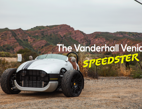 One seat, three wheels: The Vanderhall Venice Speedster