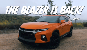 The Chevy Blazer is back ...and it wants your cash