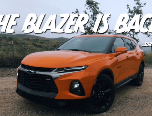 The Chevy Blazer is back …and it wants your cash