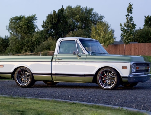 This 1970 Chevy C10 went for bonkers dough at Barrett-Jackson