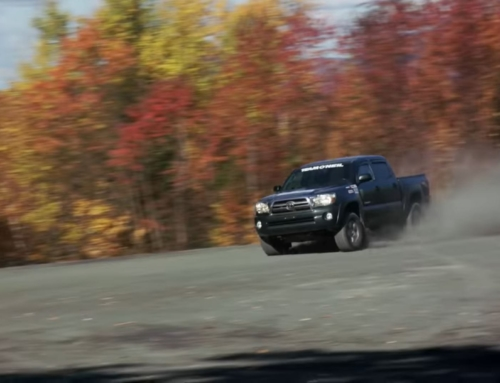 You bet your ass you can rally a Toyota Tacoma