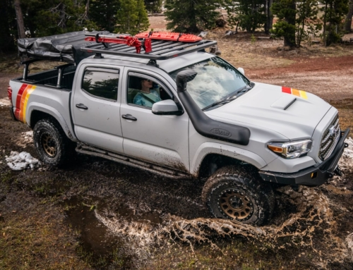 Yakima's new platform rack and fishing gear transport
