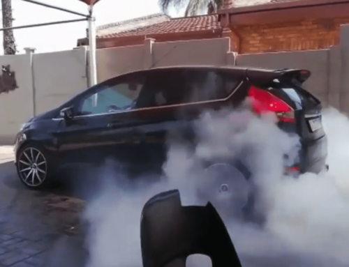 Some wonderfully mad folks swapped a Lexus 3UZ engine into… a Ford Fiesta?!