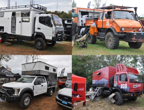 The many vehicles of Overland Expo East 2019