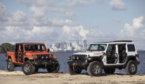 Jeep unveils Wrangler and Gladiator Three O Five Editions in Miami