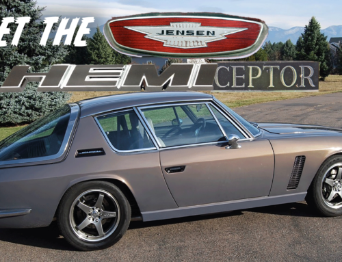 The Jensen Hemiceptor is real and it's magnificent