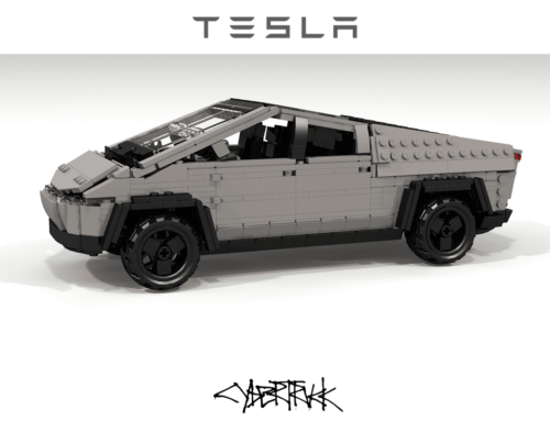 Lego Tesla Cybertruck looks better than the real thing