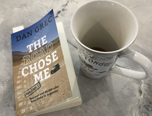 Book Review: The Road Chose Me, Volume 1: Two years and 40,000 miles from Alaska to Argentina