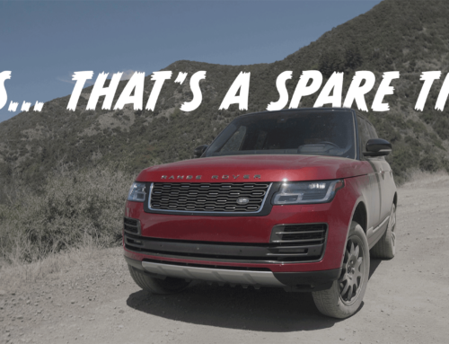 Not the Range Rover review we had planned