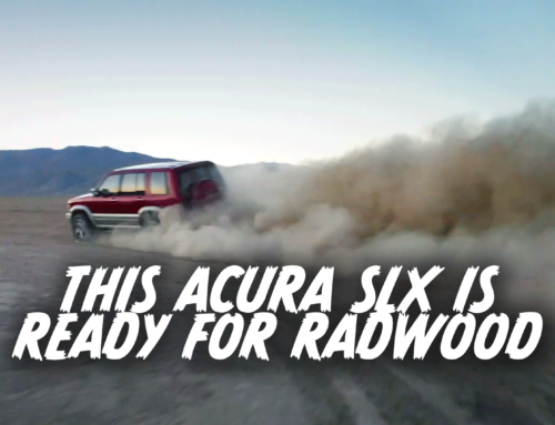 Acura gets down with Radwood by modifying this 1997 SLX
